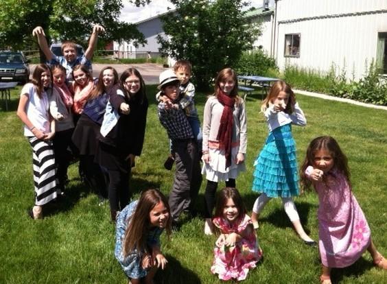 Kids looking forward to summer.