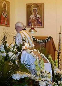 Dc. Gregory prays.