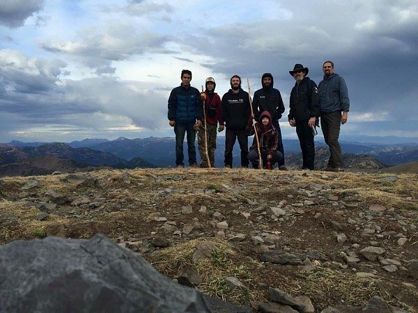 Parish men get to know each other while exploring Montana.